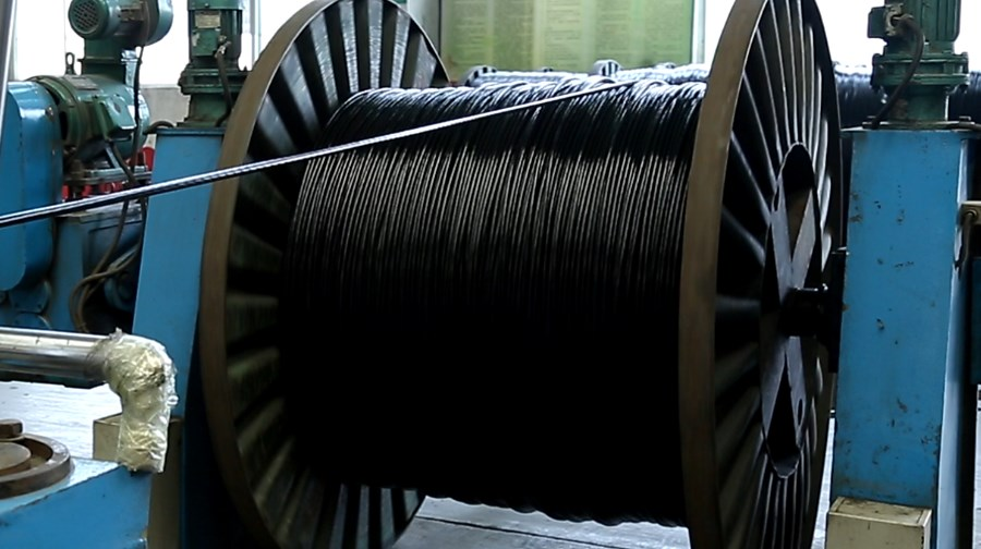 cable aluminio with insulation