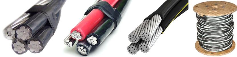 aluminum quadruplex cable